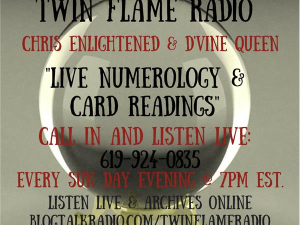 Live Numerology & Card Readings