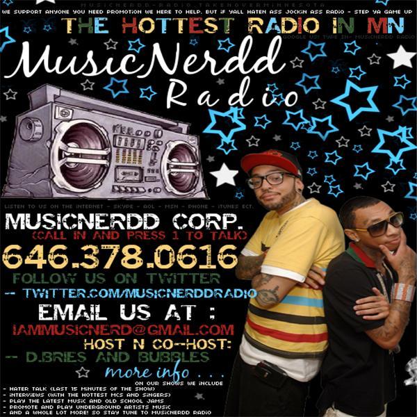 MUSICNERDD RADIO - BACK ON DAT LATE NiGHT FRiDAY 10/30 by