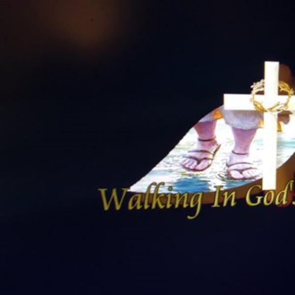Walking In Gods Purpose