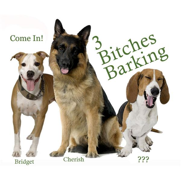 3 Bitches Barking