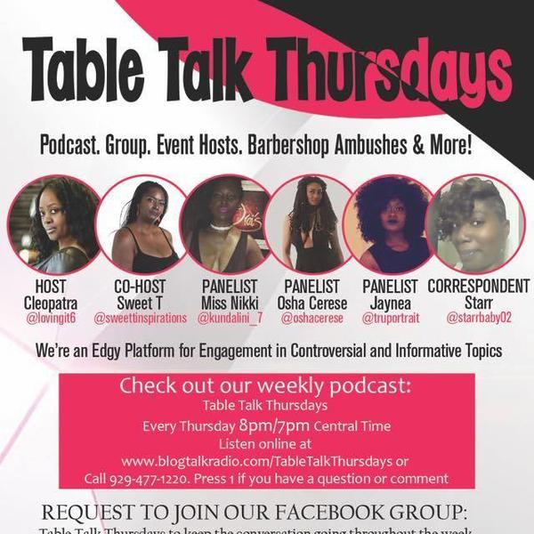 Table Talk Thursdays