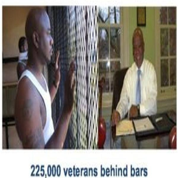 225000 veteran behind bars
