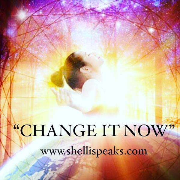Change It Now Shelli Speaks