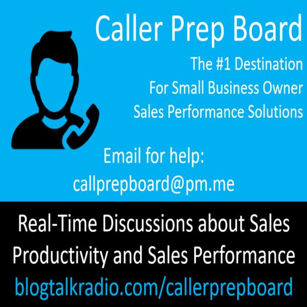 Biz Owners Caller Prep Board