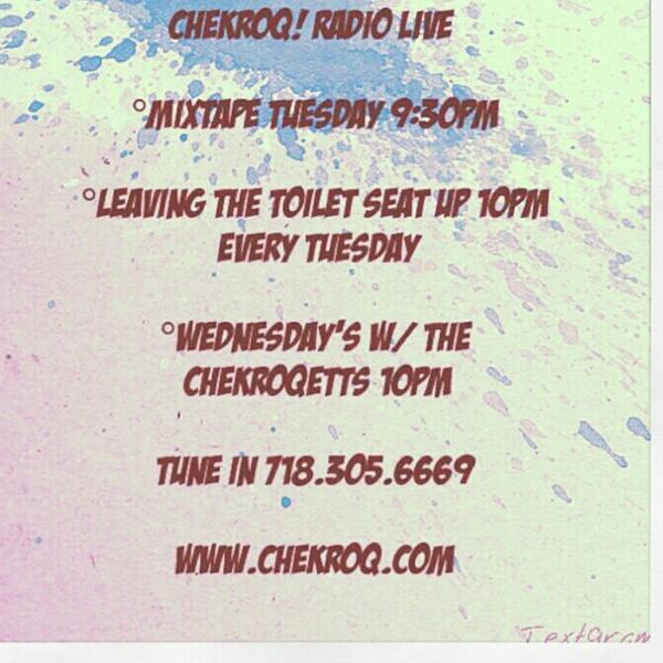 ChekRoQ Radio Live
