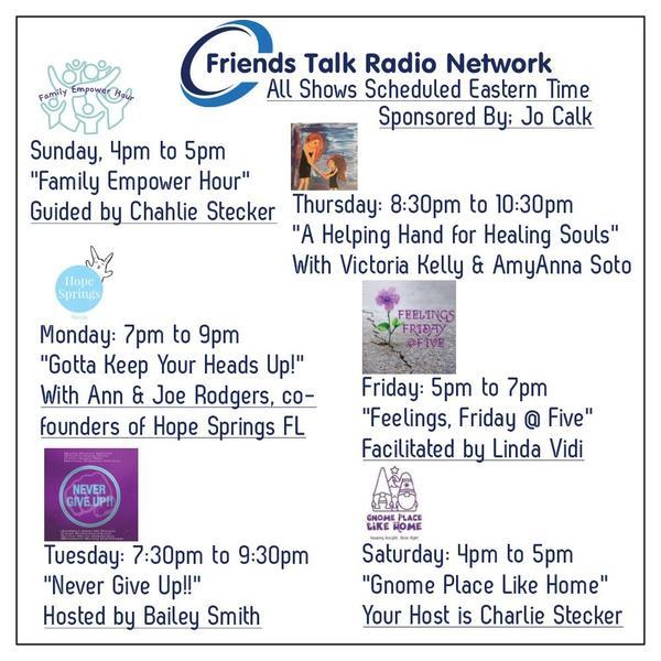 Friends Talk Radio Network