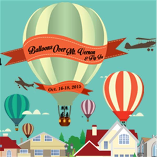 Balloons Over Mt Vernon
